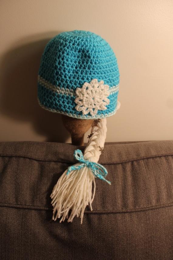 Knitting Pattern For Elsa Hat : Elsa Inspired Crochet Hat