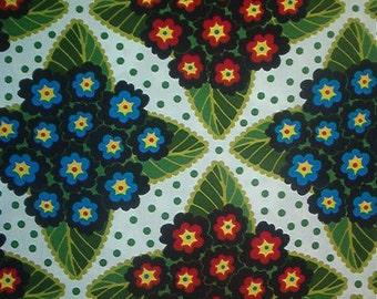 FREE SPIRIT cotton fabric-Jane Sassaman-Early Birds-Primrose Posy-by the yard