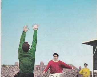 Vintage Football (soccer) Programme - Swindon Town v Leicester City, 1969/70 season