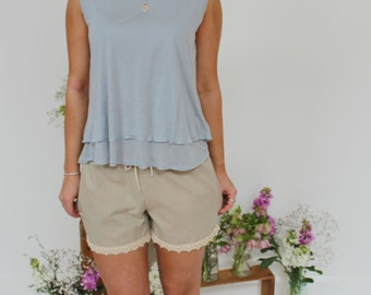 Organic Cotton Summer Shorts