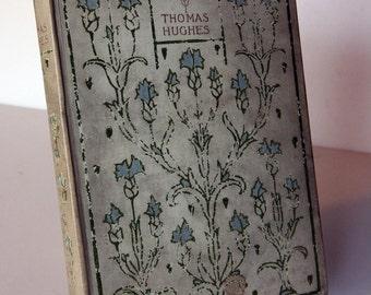 Tom Browns School Days Thomas Hughes Vintage hardback Vintage, gift, collectables illustrated