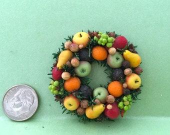 Williamsburg Fruit Wreath