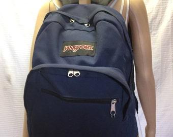Jansport Backpack, Leather Bottom Backpack