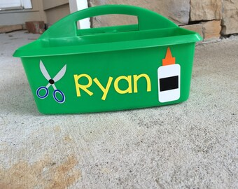 Personalized Art Caddy