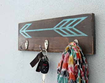 Arrow Key hook | Key holder | Entryway Key hook | Modern Key Holder | Arrow Organizer