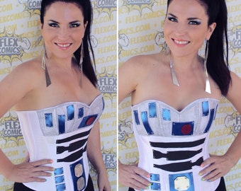 R2D2 Inspired Corset