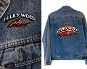 Vintage 'Hollywood Casino' Denim Jacket S