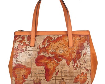Tote bag Map of the World
