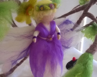 Needle Felted Angels