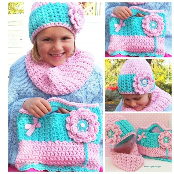 Knitting Pattern Lucy Bag : LUCY LOCKET CROCHET Pattern Crochet hat pattern crochet