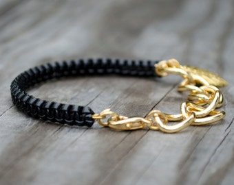 Helloberry Inspired Bracelets, Silver & Gold Stackable Bracelets, Armcandy Bracelets, Silver Chain Bangles, Gold Chain Bangles