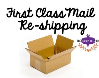 Re-shipping for First Class Mail