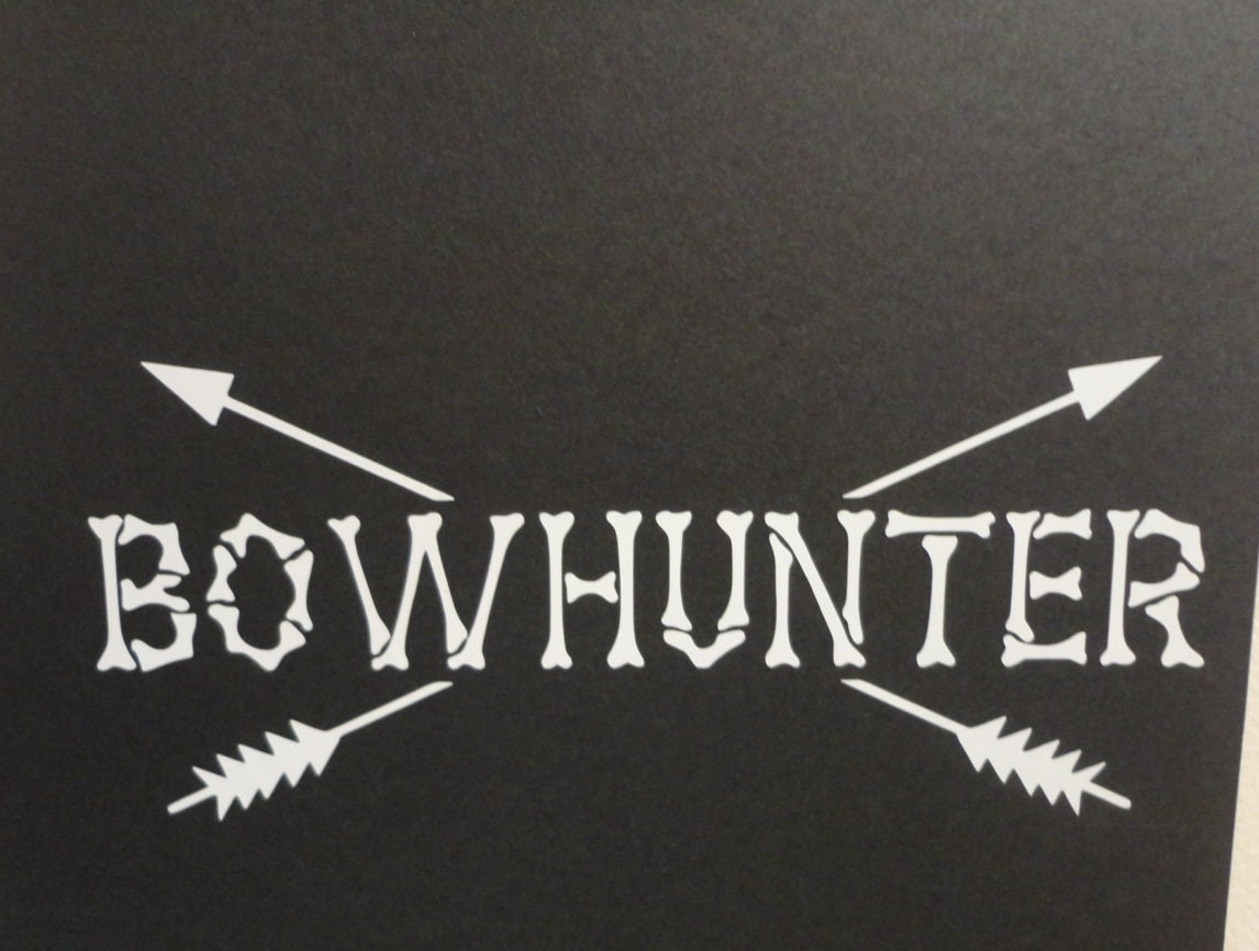 bow hunting decal bow hunting stickers ebay