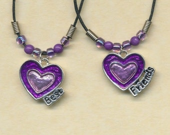 Hearts Best Friend necklaces