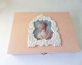 Marie Antoinette Embellished Dresser Box