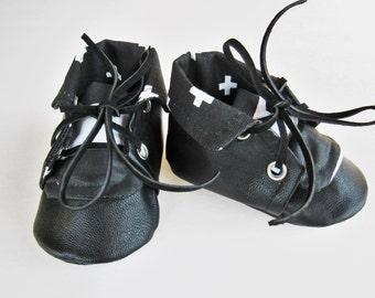 Monochrome Chuck Boots