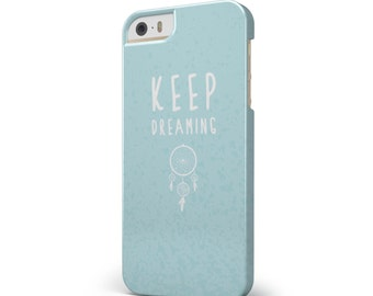 Keep Dreaming Dreamcatcher - iNK-Fuzed Hard Case for the Apple iPhone - Samsung Galaxy & More