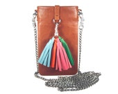 """Bodybag IPhone case leather IPhone accessory hippiehchic leather individualized bag IPhone 6 plus bag Smartphone bag mobile bag """"Mia"""""""