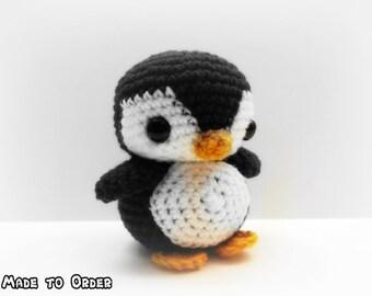 Crochet Chibi Penguin *Customizable*
