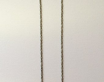 Triple Yellow Stone Necklace
