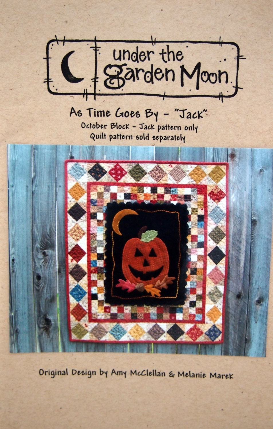 As Time Goes By Jack October Block By Amy Mcclellan Melanie Marek And Under The Garden Moon