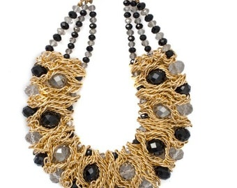 Samantha's Crystal Statement Necklace