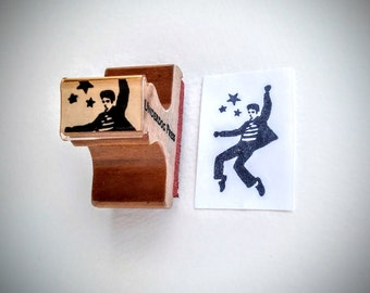 "Stamp - Elvis 1.5""x.875"""