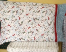 Pillowcase of the Month Club - Flannel Snowman Kit