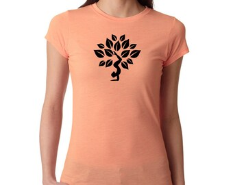 Yoga Shirt, Yoga Lotus shirt, Yoga Top, Yoga Tank, Om Shirt, Namaste Shirt, Meditation Shirt, Ladies Shirt, fitness shirt, #LS2