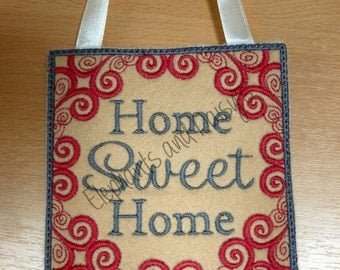 Home Sweet Home Design file.