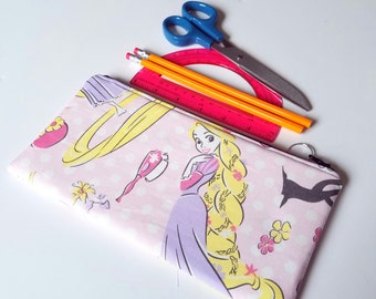 Rapunzel Zippered Pencil Case