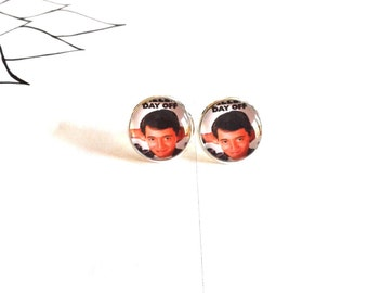 Made To Order - Ferris Buehler's Day Off Earrings
