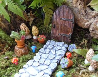 Fairy Door, Fairy Door Kit, Fairy Garden Kit Options,Fairy Garden Decor,Outdoor Fairy Gardens,Desktop Gardens,Pot Gardens