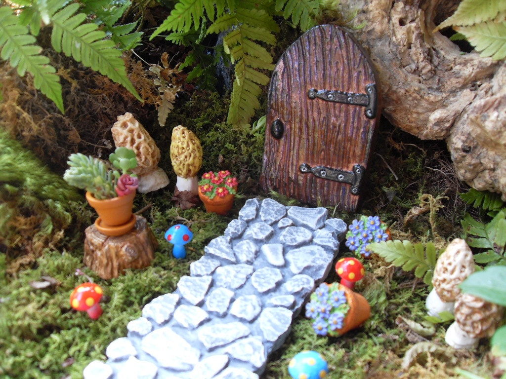 Fairy Door Fairy Door Kit Fairy Garden Kit by LaurelsFairyDoors