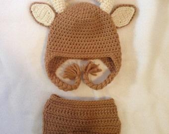40beda6448bd Renne chapeau - bébé renne - chapeau pour enfants Rennes - hiver cerf -  mignon et cache-oreille doux - par JoJosBootique