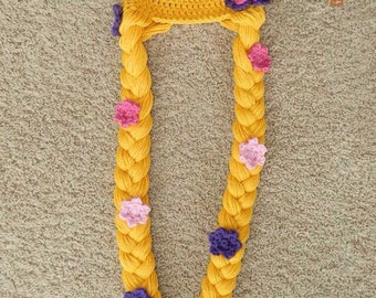 Crocheted Rapunzel Hat from Disney's Tangled