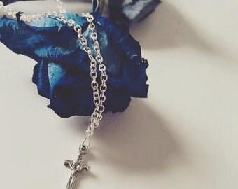 Throne Of Glass Celaena Sardothien Inspired Sword Necklace