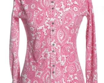 Vintage 1970's Peter Lynne Paisley Shirt 10 - www.brickvintage.com