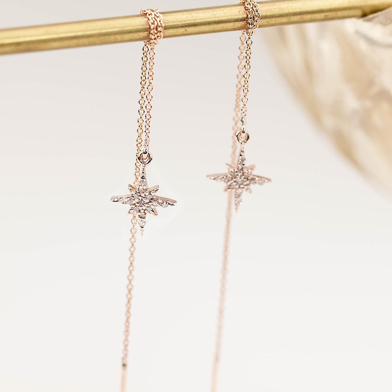 Chain Stud Earrings