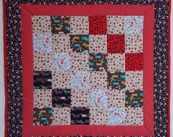 Doggy Modern Baby Quilt 6