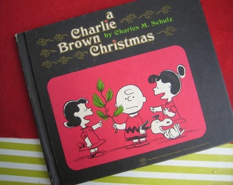A Charlie Brown Christmas By Charles M. Schulz - 1st Print 1965