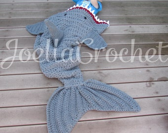shark blanket crochet shark throw blanket shark attack blanket toddler child