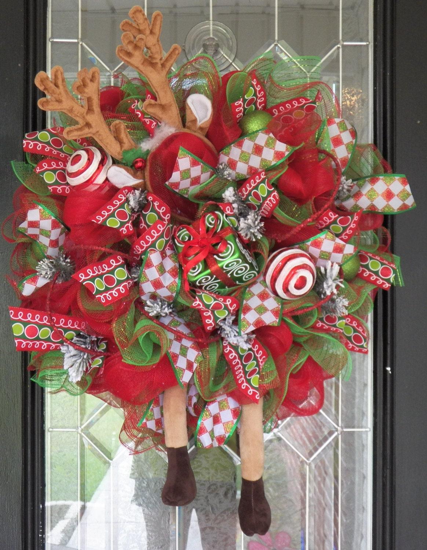 Whimsical Christmas Wreath Christmas Decoration Wreath For