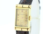 14K Yellow Gold Vacheron and Constantin Geneve Wrist Watch