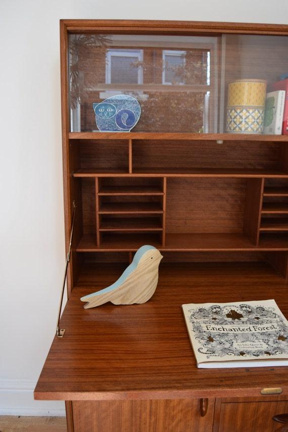 Vintage retro herbert e gibbs bureau desk mid century - Bureau design vintage ...