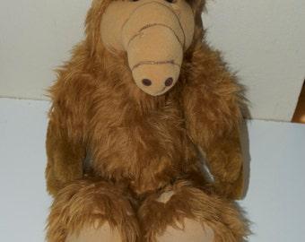 "Alf Stuffed Plush Animal Alien 1986 Coleco 18"""