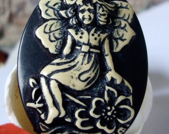 Fairy Cabocon,30 x 40 mm,Resinn Jewelry Cabochon