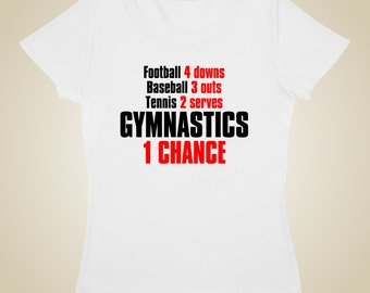 Gymnastic's T shirt - ONE chance