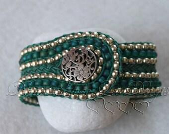 Cuff braid bracelet