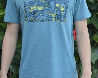 Men's Jerusalem T-Shirt Hebrew Jewish